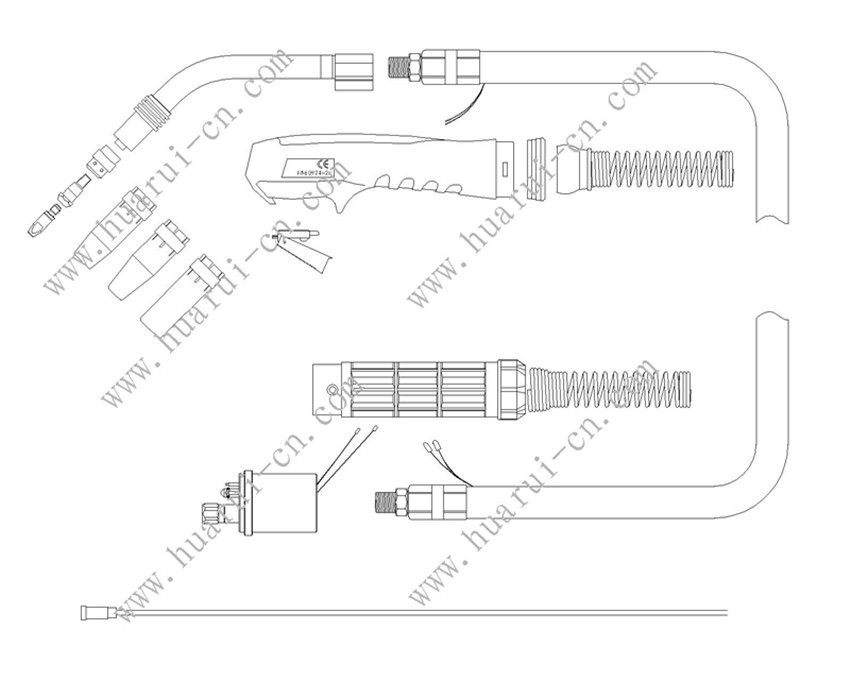 BINZEL系列焊枪24KD说明书-Model