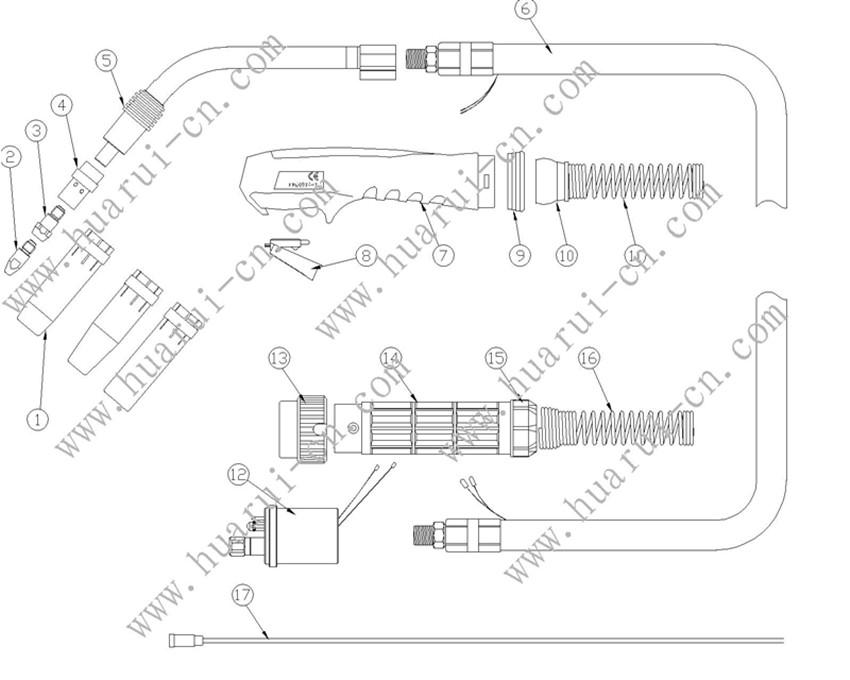 BINZEL系列焊枪36KD说明书-Model