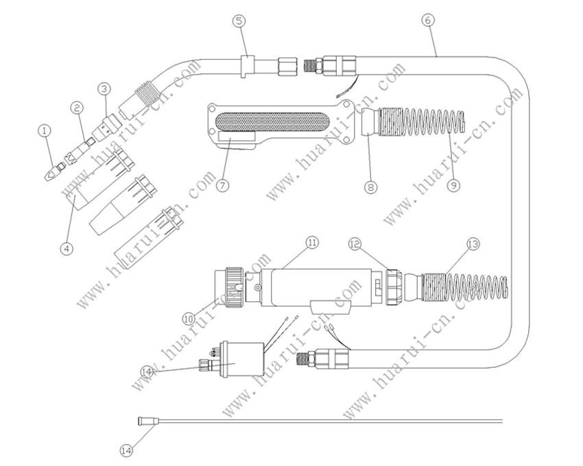BINZEL系列焊枪40KD 说明书-Model