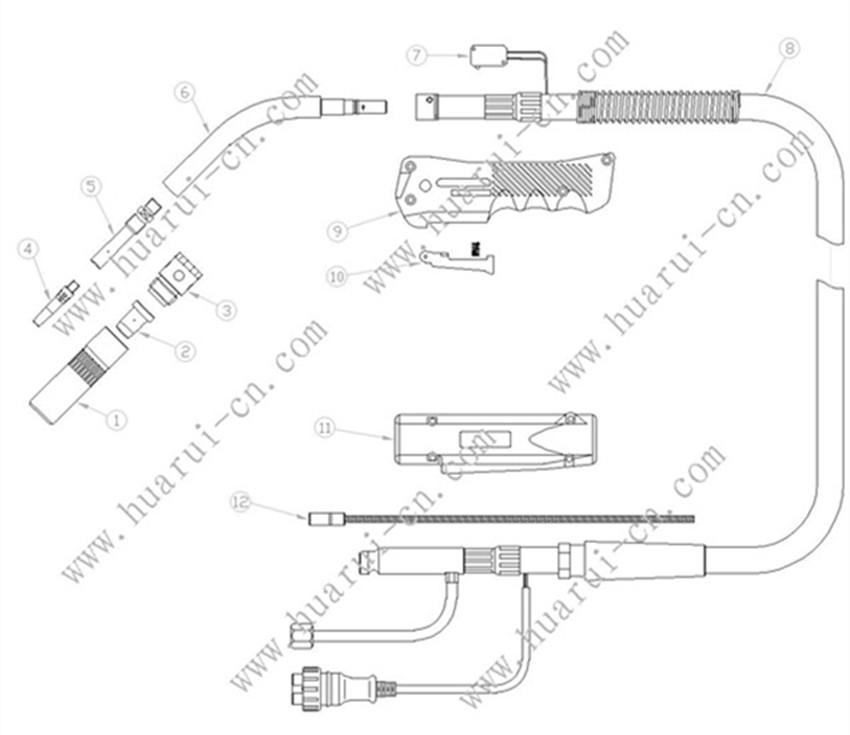 KR350示意图说明书-Model