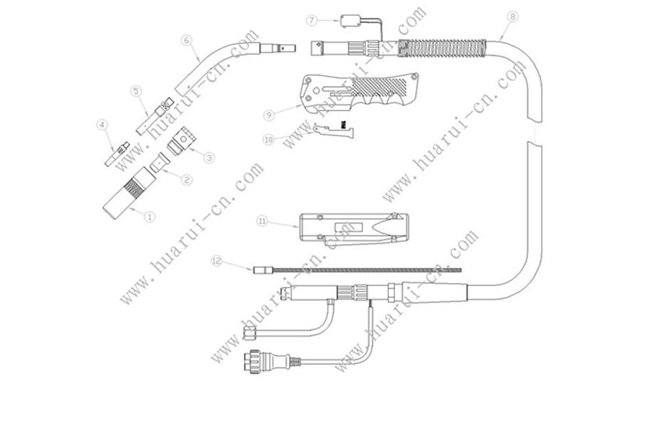 HRKR500A焊枪