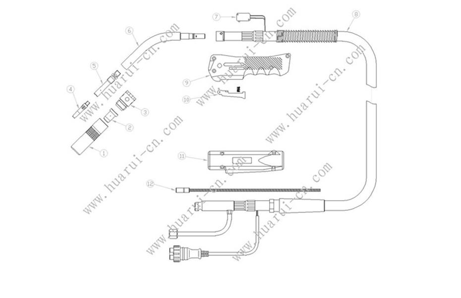 HRKR350A焊枪
