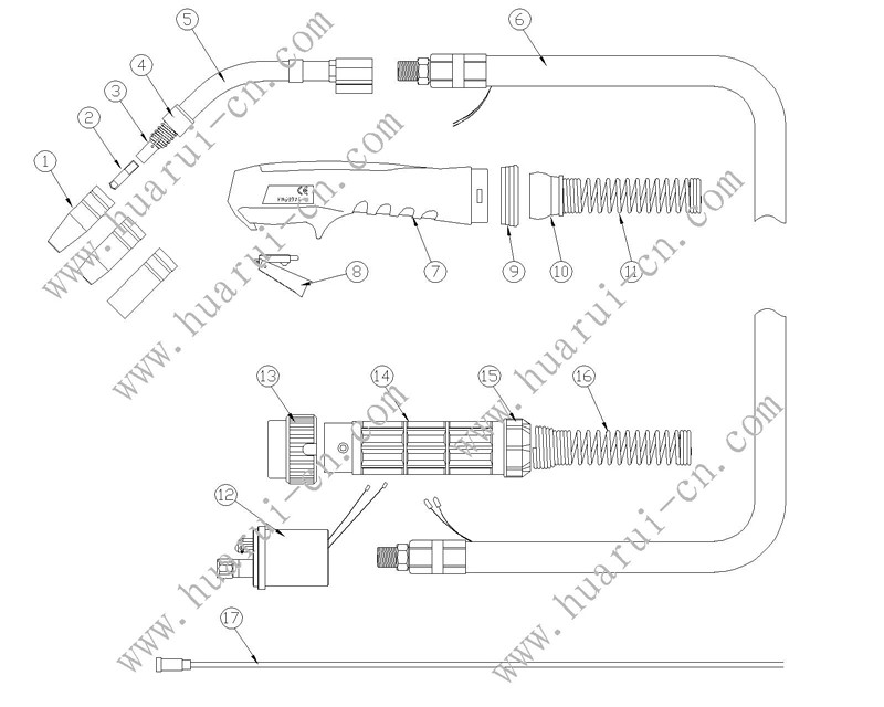 BINZEL系列焊枪15AK说明书-Model