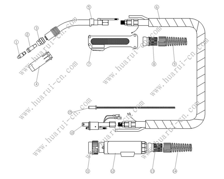 BINZEL系列焊枪61GD说明书-Model