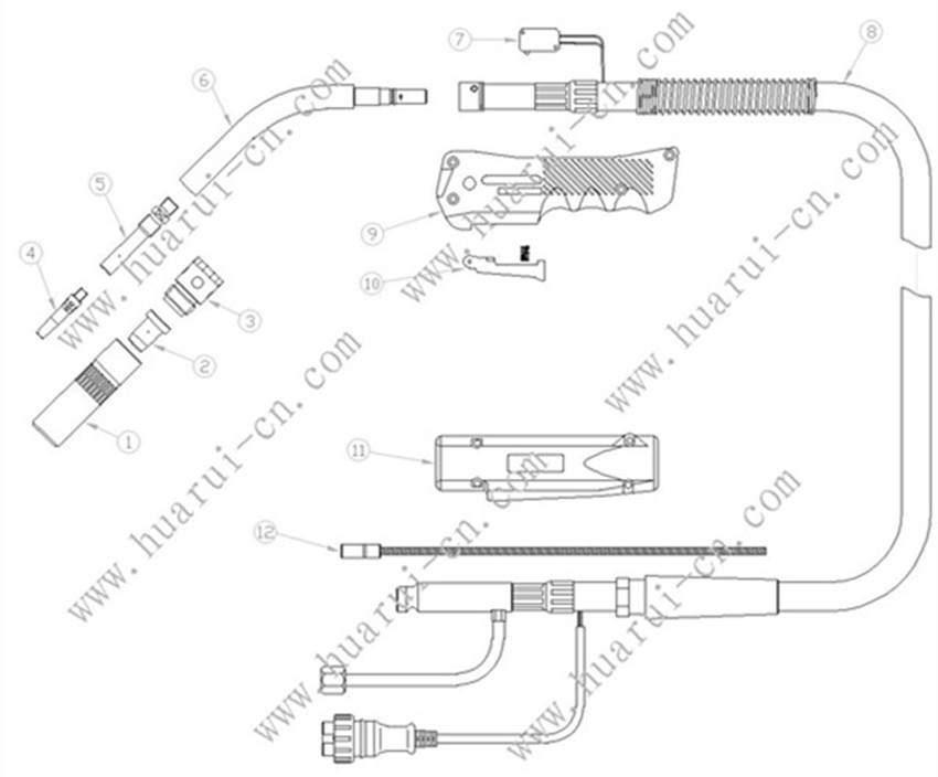 KR500示意图说明书-Model