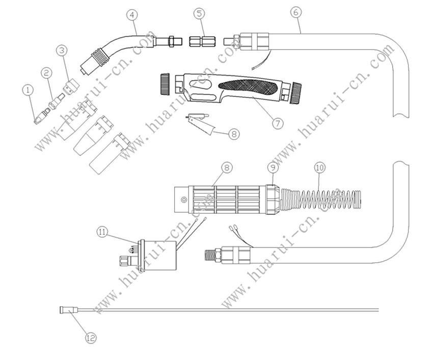 BINZEL系列焊枪 23KD说明书-Model