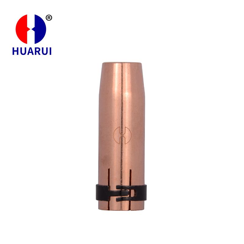 二氧化碳焊枪配件 MB501D喷嘴 宾采尔保护套
